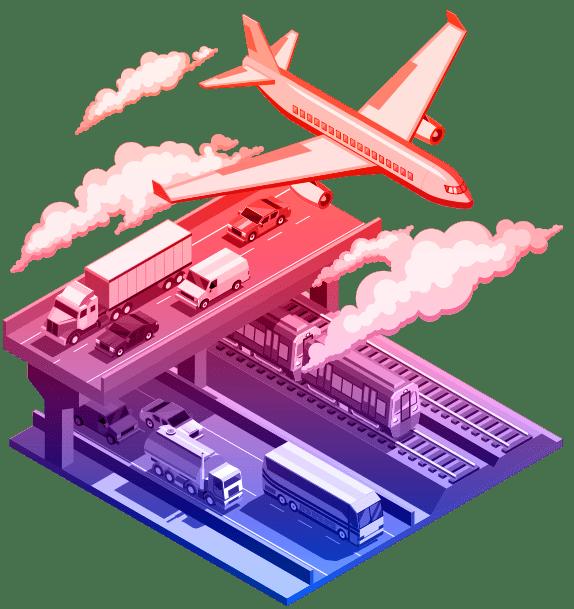 transportation-banner-illustration